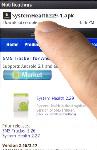 how to uninstall sms tracker
